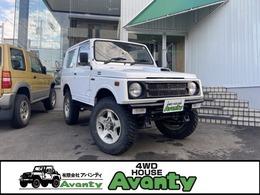 スズキ ジムニー 660 バン HC 4WD 社外マフラー タンクガード M/Tタイヤ