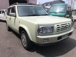 日産 ラシーン 1.5 タイプIII 4WD ETC/サンルーフ/オーディオ/アルミホイル
