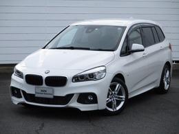 BMW 2シリーズグランツアラー 218d Mスポーツ コンフォートアクセス Bluetooth