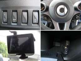 クルーズコントロール、ドライブレコーダー、ETC、アイドリングストップ、衝突被害軽減ブレーキ付きです。
