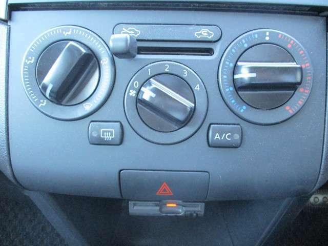 エアコンも簡単操作で、誰でも使いやすいです。