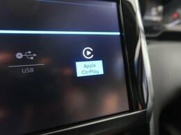 ●ApppleCarPlay搭載、iPhoneと同期して使用することが出来ます。