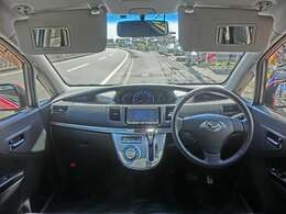 視界良好!運転がしやすく快適!運転席・助手席共にバイザーミラーが付いていてとても便利!