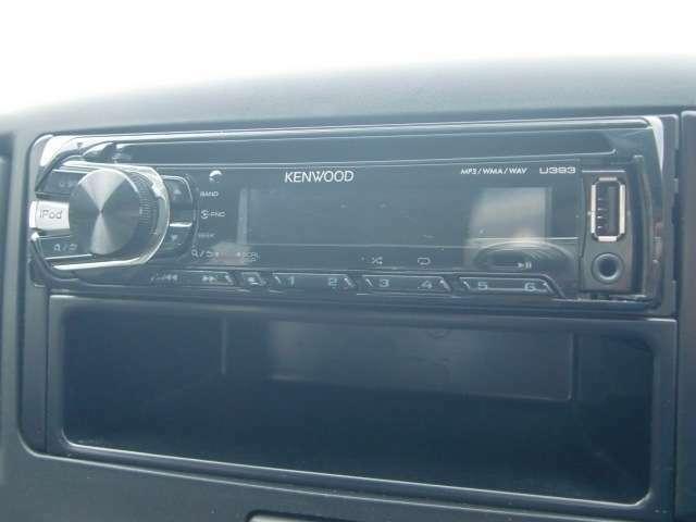 オーディオは、USB接続などで、スマホやiPod等の音楽を聴くこともできます。