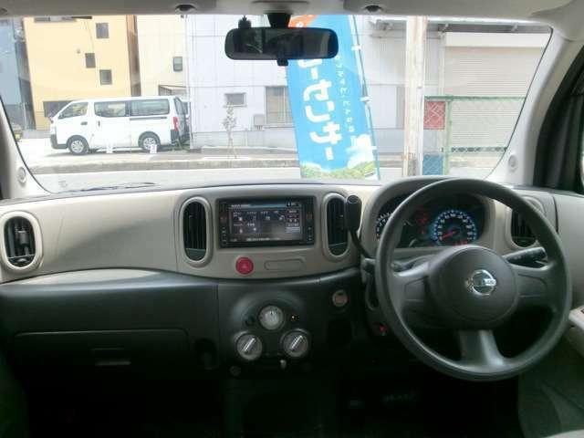 視界が広く運転しやすいように設計された運転席周り。運転が苦手なお客様でもこれなら大丈夫だと思います☆