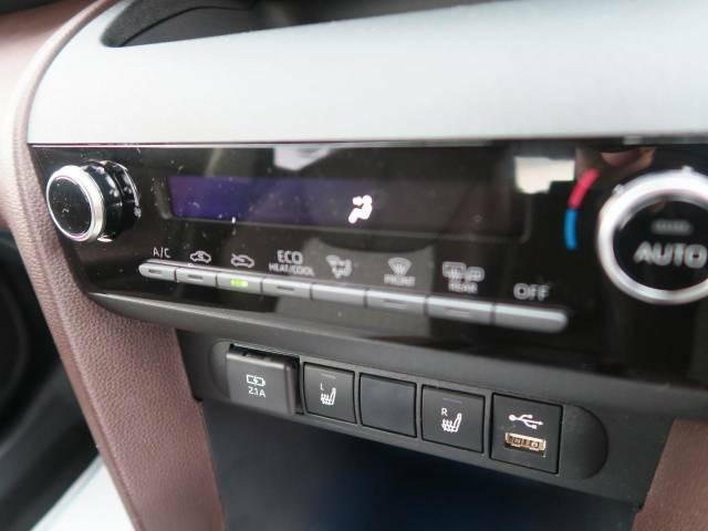 【オートエアコン】お好みの温度設定が可能で全席にも最適な空調をお届け致します。