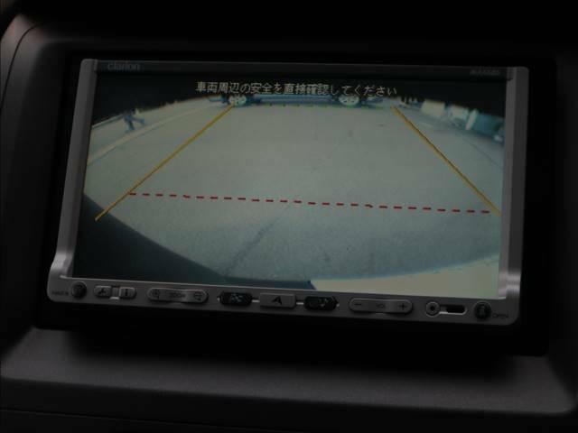 バックカメラ搭載車両です。