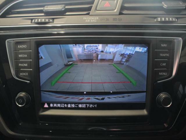 駐車が苦手な方にも安心のバックカメラ装備。