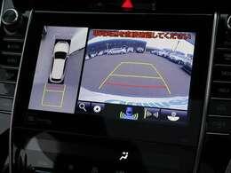【 パノラミックビューモニター 】上空から見下ろしたような映像をナビ画面に映し出すので周囲の状況を確認しながらの走行・駐車が可能となっております!