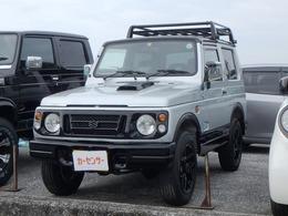 スズキ ジムニー 660 ランドベンチャー 4WD ルーフキャリア・アルミ・ナビ/TV