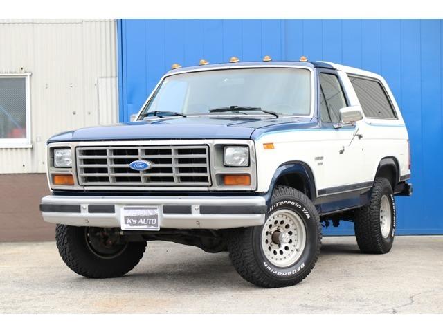 フォード、ブロンコ、XLT、86y、ホーリーキャブ、4WD、BFグッドリッチタイヤ、ETC、新車並行!