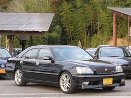 トヨタ クラウンアスリート 2.5 V 黒・後期テール・ターボ・車検受渡し