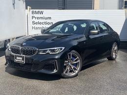 BMW 3シリーズ M340i xドライブ 4WD 認定保付黒革1オナレーザーライトPアシスト