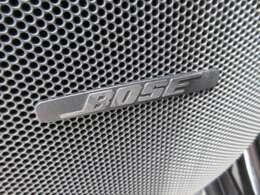大人気のBOSEサウンドシステム搭載♪ 臨場感あふれる音質でドライブをさらに楽しくしてくれますね♪