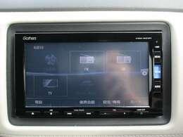 純正メモリーナビ(VXM-165VFi)です。DVD/CD再生のほかにもフルセグTV、ミュージックサーバー、USB接続、Bluetooth連携機能も装備されとっても便利です!
