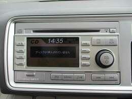 CDチューナー付ステレオ装備!ドライブに音楽は欠かせませんね♪