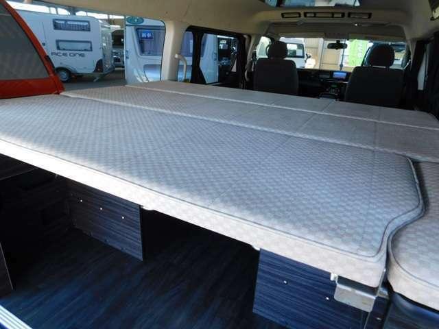 上段子供用ベッド サイズ 幅163cm奥行き137cm