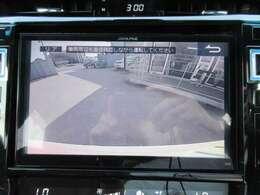 大画面で確認がしやすい♪バックカメラ付きなので車庫入れも安心ですね♪