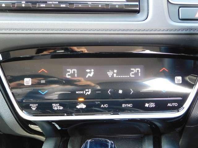 エアコン操作パネルの画像です!使いやすいタッチパネル式です!前席には嬉しいヒーター機能付きです♪中古車は現品限り一点ものです!まずは実車をご覧ください!