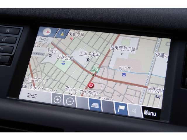 ナビゲーションはボタン+タッチパネルを採用しておりますので直感的な操作が可能です。
