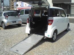 ホンダ ゼスト G 車いす移動車 スロープタイプ