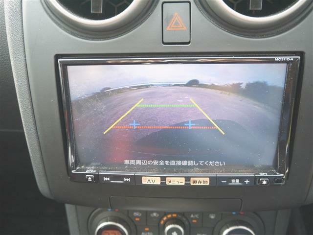 ●装備3● 駐車ガイド付バックカメラ|