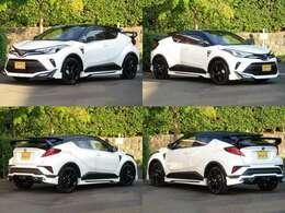 Toyota New Global Architectureの第2号車として投入した新型車「C‐HR」。高効率・小型・軽量化を追求した1.8L 直列4気筒DOHCハイブリッドシステム搭載!