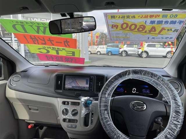 運転席からの視界をご確認下さいませ!