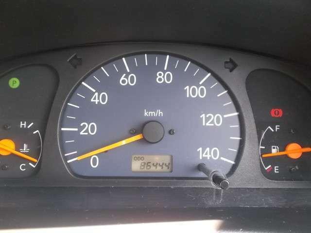 86444キロの走行です。調子とてもいいです!