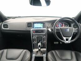 H27年式 S60 T4Rデザインが入庫いたしました♪レザーシートが高級感ある1台です♪