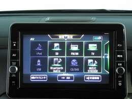 純正ディーラーオプションメモリーナビ(MM320D-L)です。TV・DVD・音楽録音・Bluetooth・USB・SD・iPodなどが楽しめます。