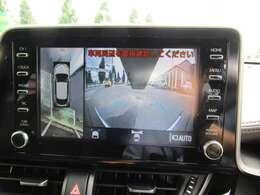 ディスプレイオーディオ メモリーナビ バックカメラを含む全方位モニター装備
