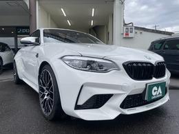 BMW M2コンペティション M DCTドライブロジック ワンオーナーBMWディーラー 車検整備付き