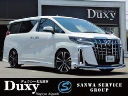トヨタ アルファード 2.5 S 新車 ALPINEナビ取付0K モデリスタエアロ