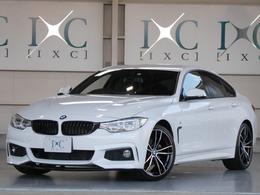BMW 4シリーズグランクーペ 420i Mスポーツ 1オーナー LEDライト HDDナビTV 新品19AW