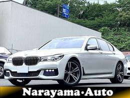 BMW 7シリーズ 740e iパフォーマンス Mスポーツ 当社買取車 黒革シート サンルーフ 禁煙車