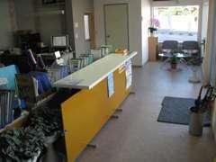 事務所内受付スペース&待合スペース