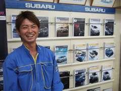 JU認定中古車販売士の中村です!お気軽に声を掛けて下さいね!
