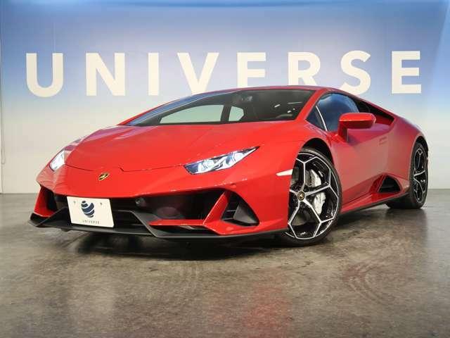 ●ウラカンEVOクーペ入庫いたしました!車両スペックもさることながら、内外装のコントラストも印象的な1台となっております♪
