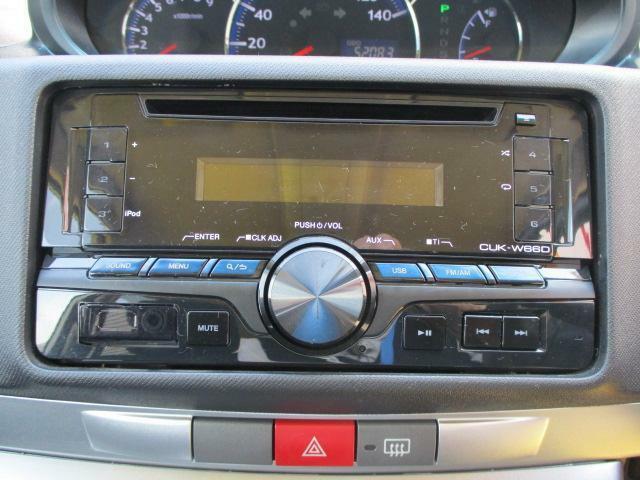 CDデッキ付き☆お好きな音楽を聴きながら、ドライブをお楽しみいただけます♪