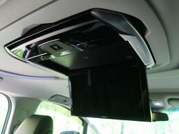 【フリップダウンモニター】ALPINE製12.8型フリップダウンモニター 『嬉しい大画面後席モニター付き車両ですので、長距離ドライブも安心です☆