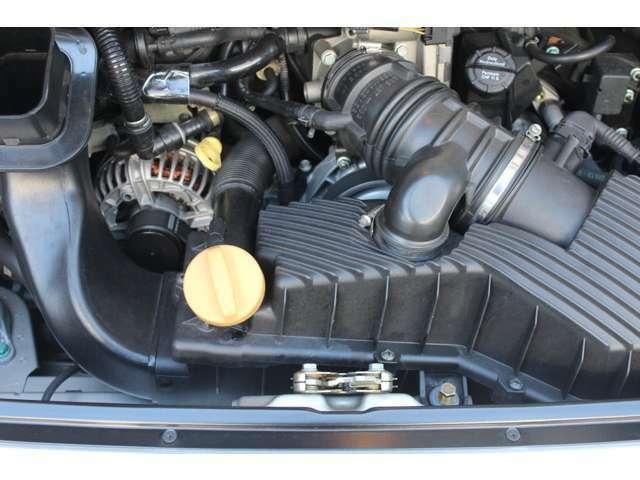 エンジンは水冷水平対向3.4Lです。