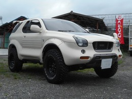 いすゞ ビークロス 3.2 4WD MTタイヤ 社外マフラー 地デジナビ