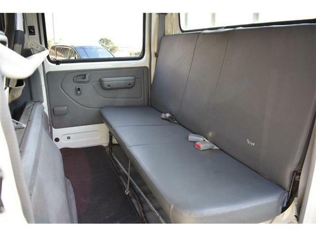 ■後席は人が乗らない時などは荷物や道具がたくさん積めます■