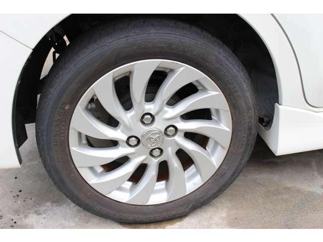 タイヤもまだまだお使い頂けます。