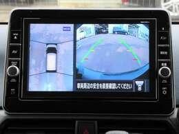 上から丸見え!アラウンドビューモニター☆移動物検知機能で死角を補います♪