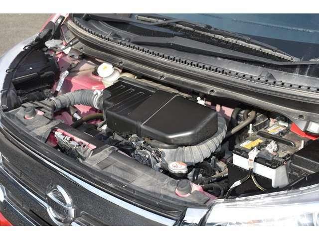 走行が少ないのでオイル漏れもなく調子がいい車です
