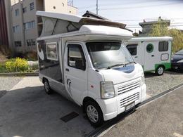 マツダ スクラムトラック キャンピング車 軽8ナンバー インディアナRV製インディ727