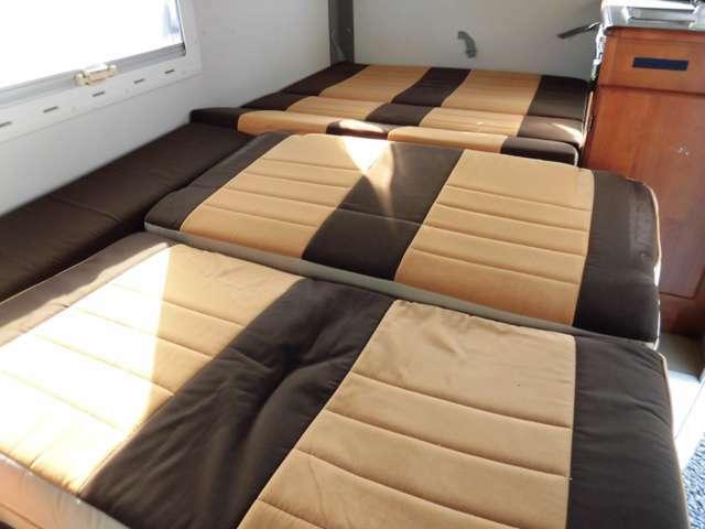 広々なベッドです