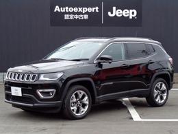 ジープ コンパス リミテッド 4WD サンルーフ 新車保証継承 純正ナビTV